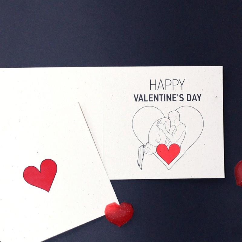 "Postcard ""Happy Valentine's Day"" 69"