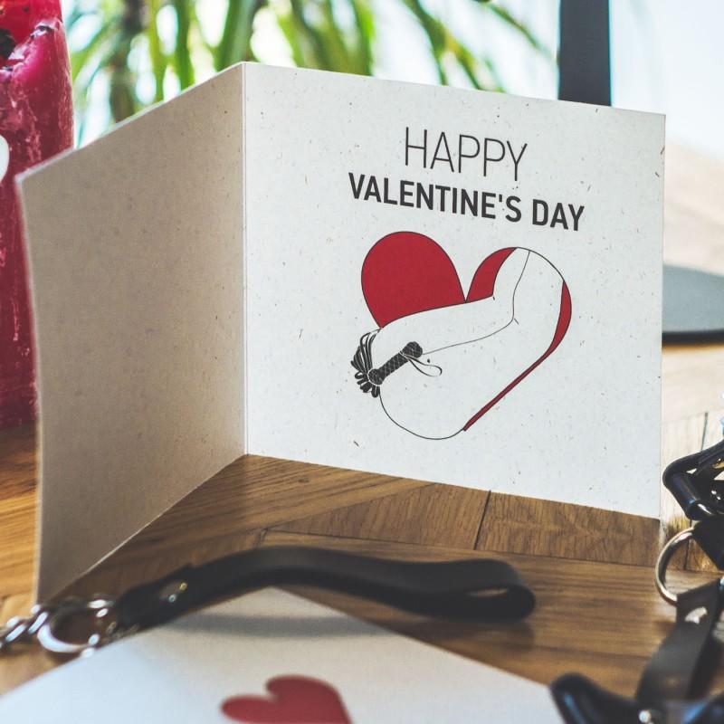 "Post Card ""Happy Valentine's Day"" Flogging"