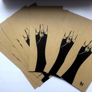 """Post card """"Dip"""""""