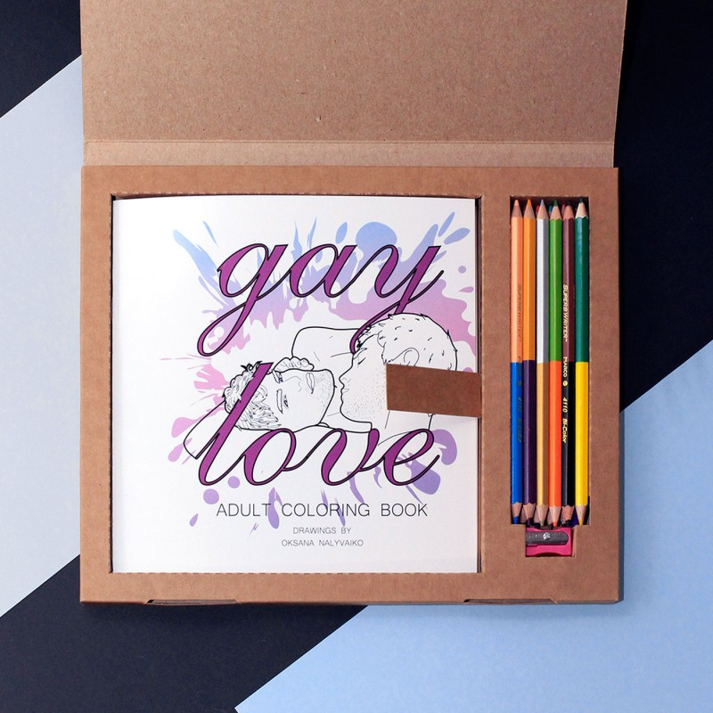 "Gift Set ""GAY LOVE"""