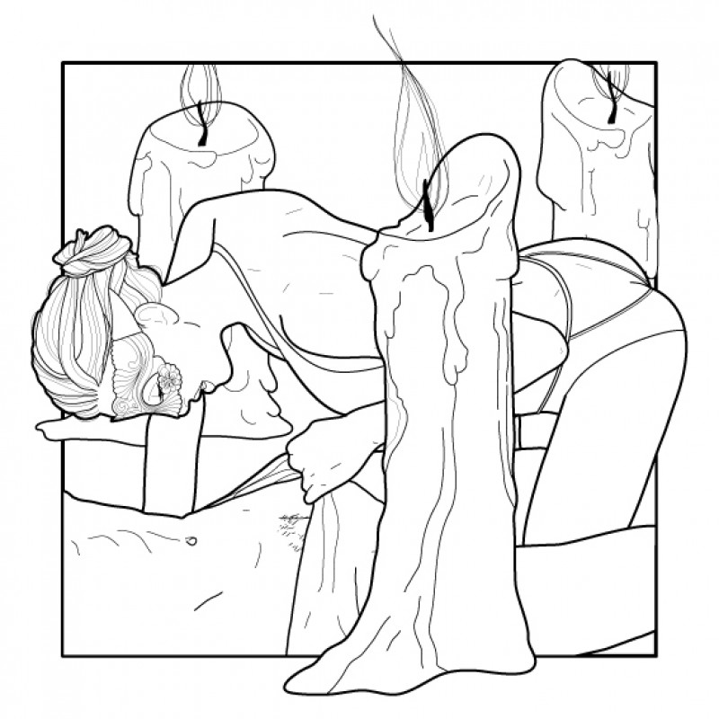 "Adult Coloring Book 18+ ""Sex Positions"""